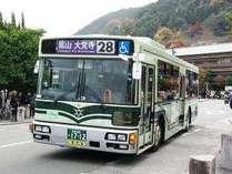 【京都観光にオススメ!】 市バス&京都バス1日乗車券&路線MAP付でらくらく都巡り♪