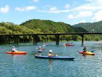 【カヌー体験】四万十川をカヌーでお散歩♪近隣ではアクティビティ体験が可能な施設がたくさんございます!