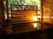 露天風呂付特別室で溢れる天然温泉を独占!!