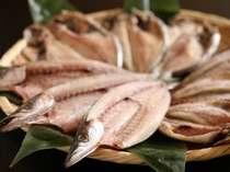 [★]朝食の鰺の干物は「焼きたてでふっくら」と好評♪お土産に買っていかれる方も多いです(宿泊者割引あり)