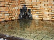 *【温泉】ナトリウム塩化物泉の温泉でしっかり英気を養ってください。