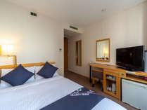 ◆セミダブルルーム 2名様までご利用いただけるセミダブルベッドのお部屋