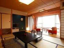 【浜名湖を一望】ウェルカムステイ(和室10帖+4帖):既存客室を改修(禁煙/喫煙)