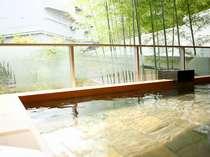 【宿泊者専用露天風呂】「ひとと季の湯」でくつろぎのひとときを。