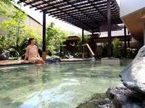 ■石景の湯(華咲の湯内)/偶数月は女湯、奇数月は男湯としてお入り頂けます