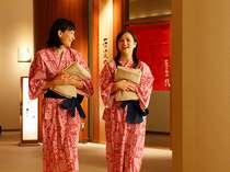 ■華咲の湯/「石景の湯」「桧香の湯」「ダイダラボッチの湯(男湯・女湯」の3つの大浴場がございます