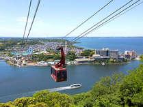 【かんざんじロープウェイ】日本唯一♪湖上を渡るロープウェイ!浜名湖・舘山寺の絶景を!