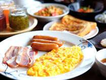 ■ご朝食/玉子料理など朝の定番メニューももちろん取り揃えています。