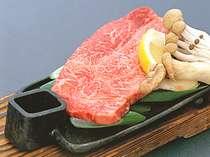 質の良い近江牛を味わうステーキ(お料理一例)