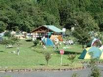湯島キャンプ場は環境も設備も充実♪お子様と安心してお過ごしいただけます。
