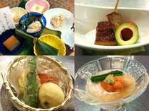 【今夏限定メニュー】豆腐六珍はスモーク豆腐他、冷やし湯葉、海老真丈,鱧の磯部揚げ等