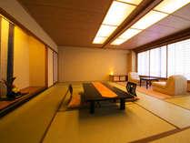 ■露天風呂つき客室-風人-■とっておきの鋳鉄型露天つきの和室