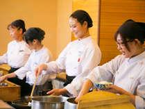 ■朝食■【豆富屋さんのバイキング】実演で出来立ての朝食でおもてなし。