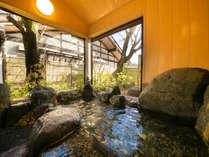 ■貸切風呂■~桜の湯~春は桜見風呂を愉しめるイチオシの貸切風呂