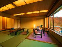 ■谷川連峰側 広め和室14畳■ゆったりとした広さと落ち着いた和の空間