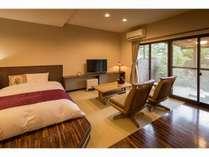 露天風呂付客室~広々43平米~ 和室6畳+ベッドルーム