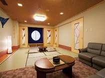 【新和室10畳・パウダールーム付】女性に優しいパウダールームなど使い勝手の良いお部屋です☆