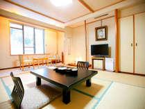 【和室8畳間】全客室に空気清浄機を完備しております