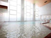 【女性大浴場】層雲峡一の豊富な湯量をお楽しみ下さいませ