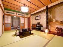 *和室(川側)/川のせせらぎをききながら、のんびりとした休日をお過ごし下さい。