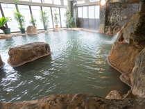 ■岩風呂■妙見ホテル自慢の温泉です!男女は時間入替制