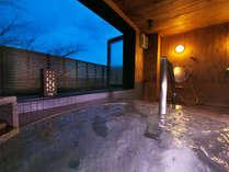■貸切風呂-月あかり-■大切な人とプライベートの時間。湯ったり癒しの空間へ・・・