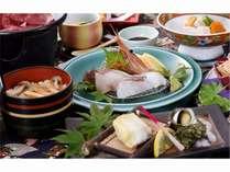 【秋の味覚を華やかに! 華プラン】きのこと牛肉の陶板、銀ダラ西京焼、松茸御飯など華のある秋会席