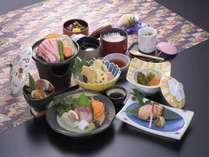 ≪Web予約限定直前割!!≫【彩プラン 冬】 季節感のある食材を多彩に盛り込んだ彩会席