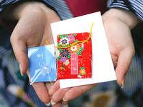 「叶い石引換券付縁結びプラン」 玉作湯神社で評判の「叶い石」という石で作るお守りです。