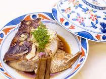 <島根和牛会席>じっくりと仕上げた鯛のあら煮