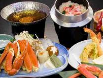 <12月~3月>特製出汁で旨味を引き出す蟹鍋