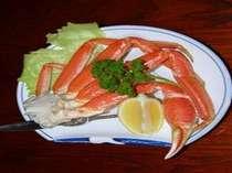 蟹たっぷり1肩【ズワイ蟹】と きんきも食べられる(朝夕部屋食)感染予防対策実施中