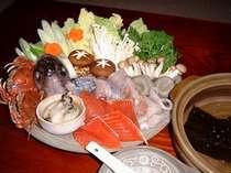 ボリュームたっぷり海鮮鍋ときんきの塩焼きプラン
