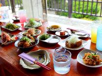 沖縄家庭料理がご堪能いただけます。