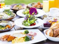 朝食ビュッフェ/品数豊富な和洋ビュッフェのご朝食。