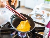 潮風の朝食/こだわりの玉子を使用した、オリジナルオムレツです。