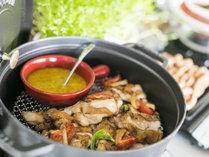 潮風の朝食/肉料理も充実。朝からパワーチャージ。種類も豊富なお肉料理が登場!