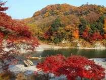 紅葉の名所・岩畳