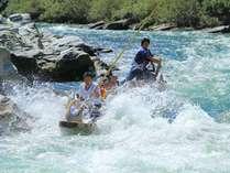 長瀞ライン下りの急流スポット『小滝の瀬』