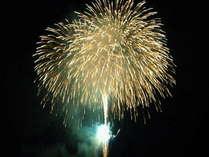 【冬花火】泰平館からすぐそばの打上ポイントで見るのがお薦め。毎年1~2月土日実施。日程は要確認。