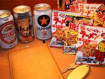 【缶ビール・おつまみ付】ほろ酔いプラン≪朝食付き≫