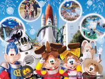 宇宙をテーマにした「スペースワールド」 かわいいキャラクターが大活躍のパレードやショーは大人気!