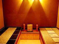 【貸切岩盤浴50分1回付】夕食お部屋&貸切露天30分無料