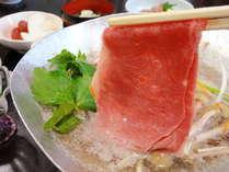 【上州和牛しゃぶしゃぶ】高品質な『上州和牛』をリーズナブルに♪嬉しい夕食お部屋&貸切露天30分無料~