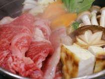 【上州和牛すきやき】高品質な『上州和牛』をリーズナブルに♪嬉しい夕食お部屋&貸切露天30分無料~