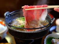 春の平日特別プラン!通常より1000円お得!!夕食に選べるすき焼きかしゃぶしゃぶ♪