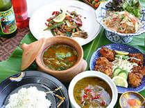 *本場タイ人のシェフが腕を揮う本格タイ料理をコースでご堪能下さい