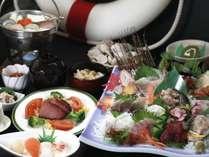 地魚10種お造り和食膳.一例