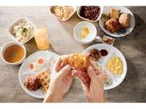 無料朝食サービス【7:00~10:00】素敵な一日の始まりに、コンフォートインの無料朝食をご利用ください。
