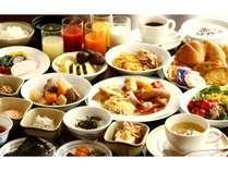【朝食】お客様が快適な1日をスタートしていただけるよう、栄養バランスを考えたメニューをご用意♪